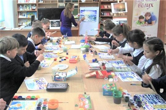 В Чувашской республиканской детско-юношеской библиотеке состоялся мультимедийный вернисаж, посвященный творчеству Айвазовского