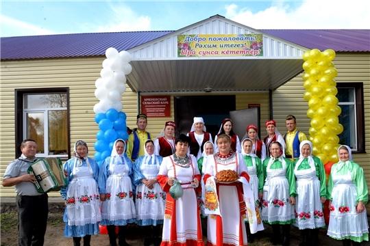Сельские дома культуры обновляются
