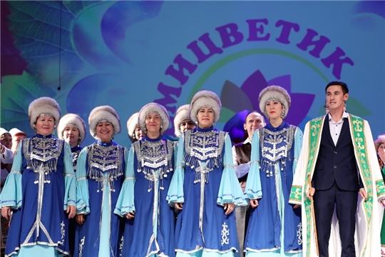 Народный коллектив башкирской песни «Ляйсан» принял участие в Межрегиональном фестивале национальных культур «Семицветик»