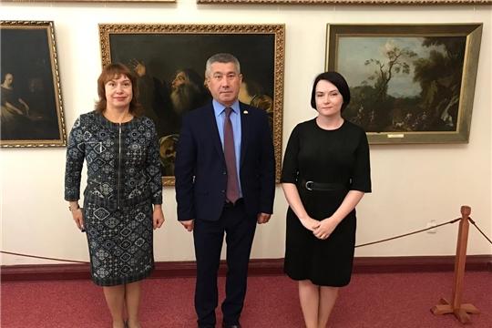 Министр культуры Чувашии Константин Яковлев посетил музеи г. Симферополь