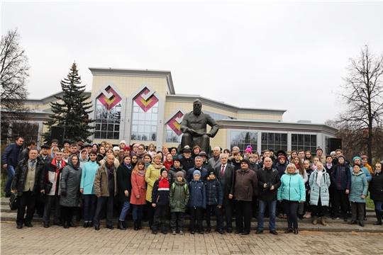 В Чебоксарах состоялось мероприятие, посвященное памяти просветителя народов Поволжья Ивана Яковлева