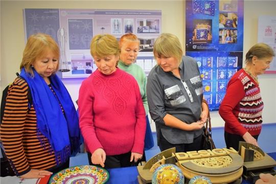 Подопечные Комплексного центра социального обслуживания населения г. Чебоксары посетили Дом Дружбы народов Чувашии