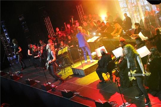 В Казани состоялся концерт «METALLICA official tribute show» с участием Симфонического оркестра