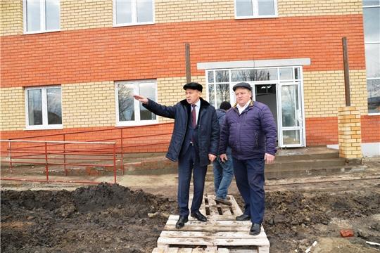 Рудольф Селиванов: «Темпы строительства вселяют уверенность в том, что сельчане встретят новый год в новом клубе…»