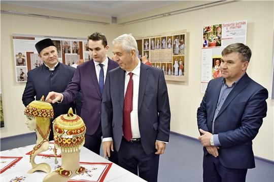Генеральный консул Республики Турция в Казани Исмет Эрикан посетил Дом Дружбы народов Чувашии