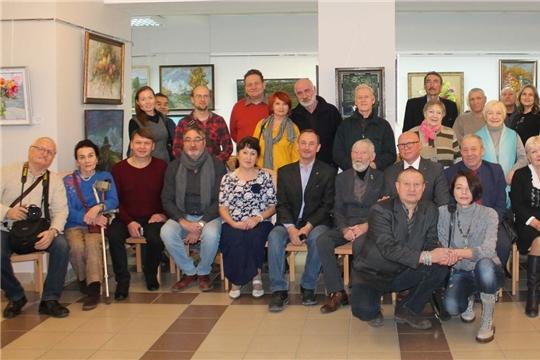 Открылась ежегодная выставка Союза художников Чувашии «Осень»