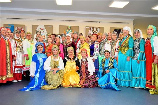 Праздник национального костюма состоялся в Доме Дружбы народов Чувашской Республики