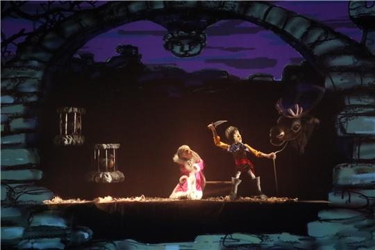 Премьера спектакля «Снежная королева» в Чувашском театре кукол