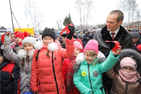 В Комсомольском районе Чувашской Республики открылся новый сельский Дом культуры