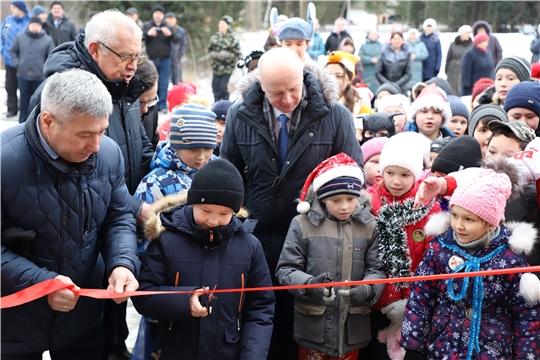 В Ядринском районе открылся новый Социально-культурный центр