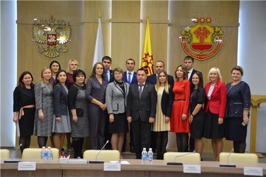 В Чувашской Республике наградили лучших государственных гражданских и муниципальных служащих