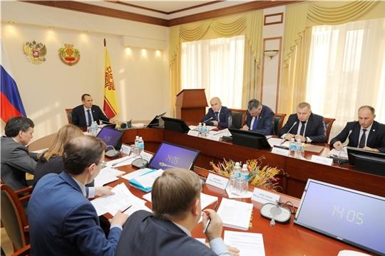 Михаил Игнатьев провел заседание рабочей группы по подготовке программы ускоренного социально-экономического развития Чувашии