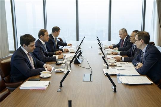 Денис Мантуров и Михаил Игнатьев обсудили проект программы социально-экономического развития Чувашской Республики