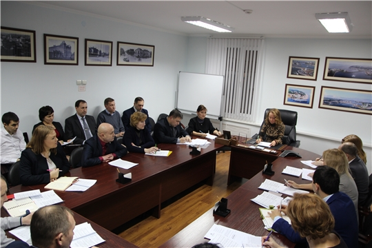 """Заседание рабочей группы по реализации проекта """"Безналичная Чувашия"""""""