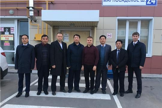 Представители китайского города Аньцин посетили мусороперегрузочную станцию в г. Чебоксары