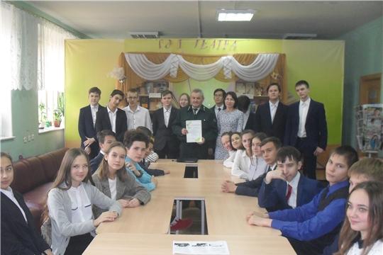 Новочебоксарским школьникам рассказали о профессиях лесной отрасли