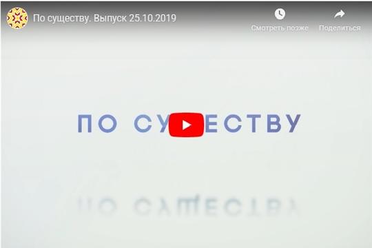 По существу. Выпуск 25.10.2019 (НТРК)