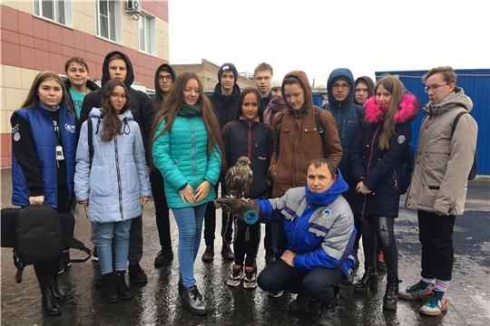 Три группы участников международной образовательной смены для школьников ознакомились с работой МПС г.Чебоксары