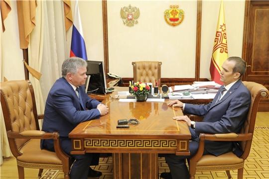 Михаил Игнатьев подписал указ о назначении Ивана Исаева министром природных ресурсов и экологии Чувашской Республики