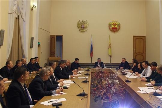 Министр Иван Исаев провел расширенное совещание с руководителями подведомственных учреждений