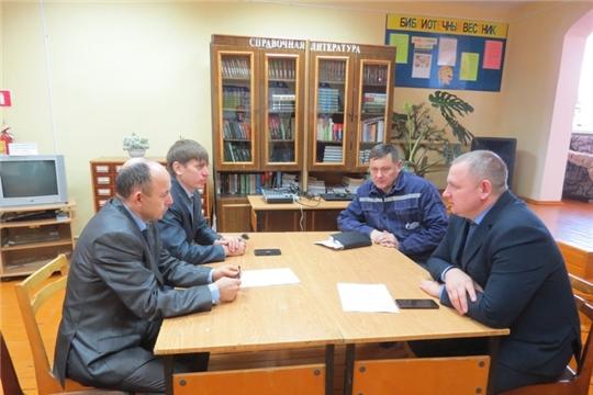 Заместитель министра природных ресурсов и экологии Николай Косулин обсудил темы Единого информдня с жителями Урмарского района
