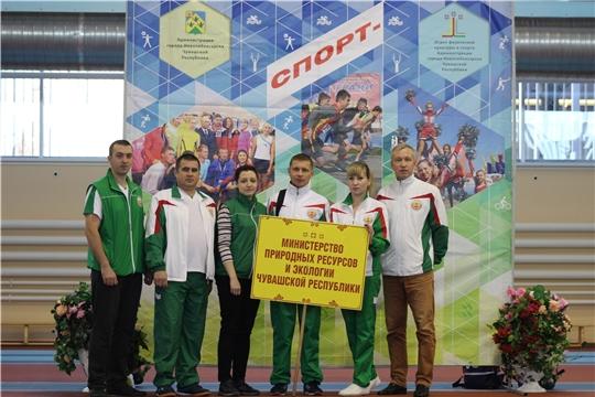 Команда Минприроды Чувашии приняла участие в осеннем этапе Cпартакиады