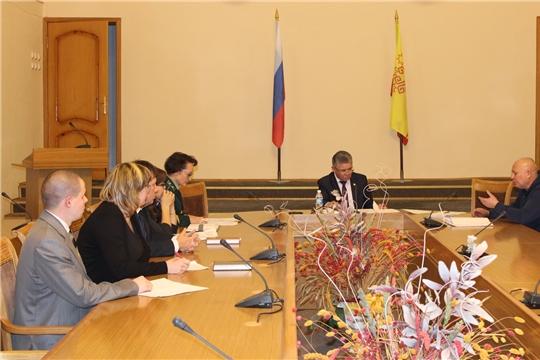 Министр природных ресурсов и экологии Чувашской Республики Иван Исаев провел прием граждан по личным вопросам