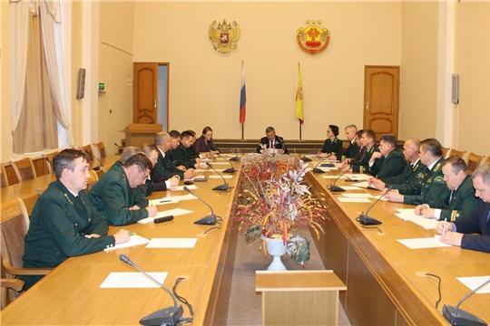 Министр природных ресурсов и экологии Чувашии Иван Исаев провел совещание с директорами лесничеств