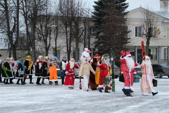 Дед Мороз национального парка «Чăваш вăрманĕ» – победитель марафона «Новогодняя Республика»