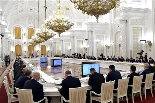 Михаил Игнатьев принял участие в заседании Государственного совета России на тему развития агропромышленного комплекса