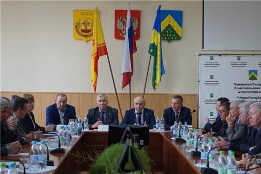 Ветераны АПК изучили опыт работы аграриев Комсомольского района