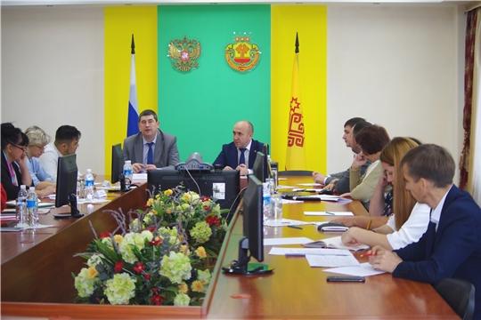 Совещание по поставкам продукции аграриев республики в федеральные сети