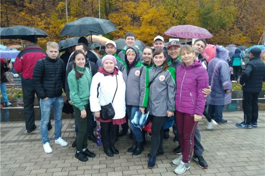 Коллектив Минсельхоза Чувашии принял участие на Всероссийском дне ходьбы.