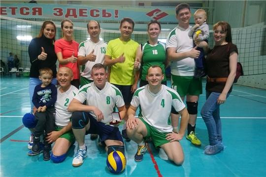 Волейбольная команда Минсельхоза Чувашии с побед начала турнир в рамках спартакиады госслужащих