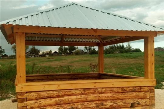 В Порецком районе завершаются работы по реализации проектов, основанных на местных инициативах 2019 года