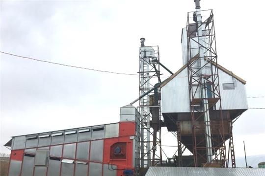 Первая в республике зерносушилка конвейерного типа установлена в агрофирме «Родина»