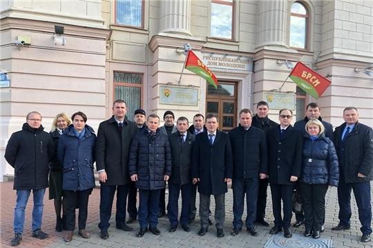 Делегация Чувашской Республики под руководством Председателя Кабинета Министров Чувашской Республики И. Б. Моторина посетила Республику Беларусь