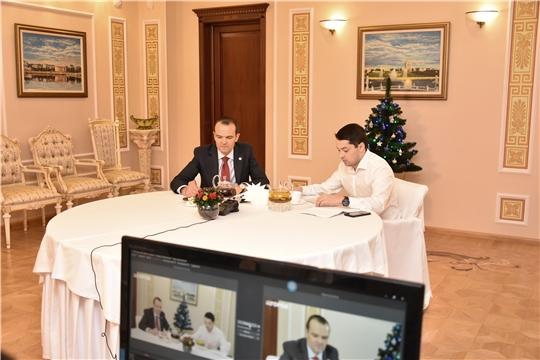 Прямое общение Главы Чувашии Михаила Игнатьева с жителями республики состоялось в социальной сети «ВКонтакте»