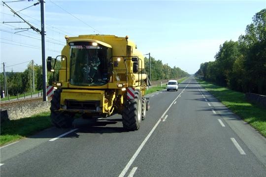 Осторожно: на дорогах крупногабаритная техника