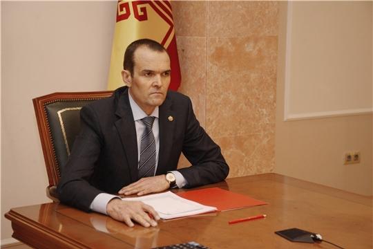 Глава Чувашии Михаил Игнатьев принял участие в заседании президиума Совета при Президенте РФ по стратегическому развитию и нацпроектам