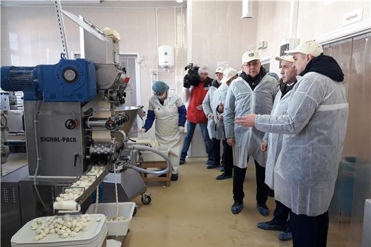 Сергей Артамонов ознакомился с реализацией проектов модернизации производства перерабатывающими предприятиями Ядринского района