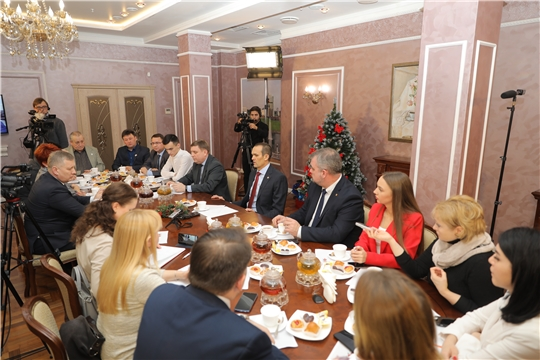 Глава Чувашии Михаил Игнатьев: «Конструктивный диалог с прессой приносит большую пользу»