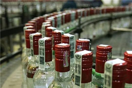 За 10 месяцев года чувашскими производителями экспортировано 108,3 тыс. дкл. алкогольной продукции
