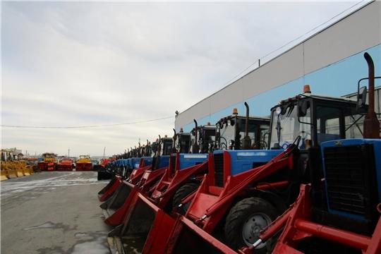 В АО «Дорэкс» проверили готовность снегоуборочной техники к работе в зимний период