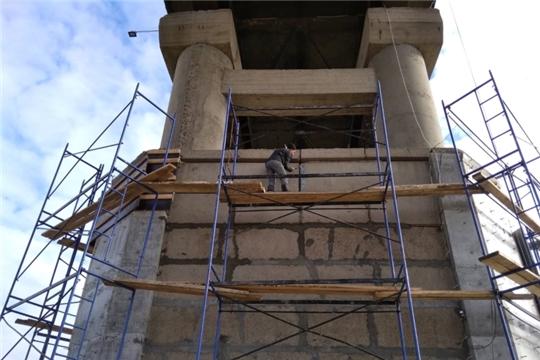 Проинспектирован ход работ на объекте ремонта мостового сооружения через р.Сура в Порецком районе