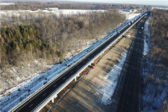 На трассе М-7 «Волга» открыли рабочее движение по эстакаде Сурского моста