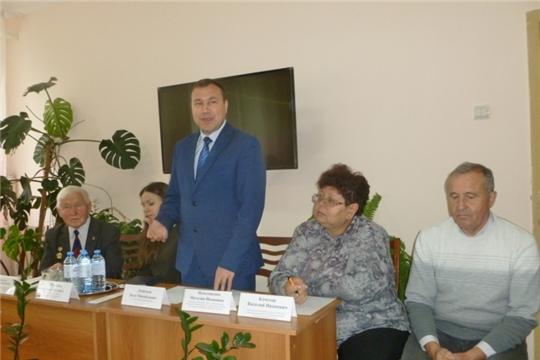 В Новочебоксарском центре социального обслуживания населения прошел Пленум Совета ветеранов