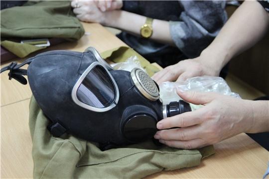 Сотрудники Минтруда Чувашии прошли штабные учения по гражданской обороне
