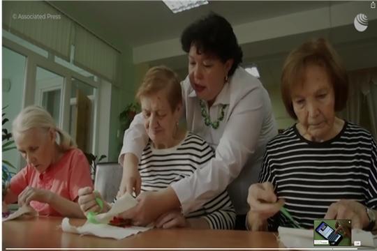 """Пенсионеры в Чебоксарах посещают """"детский сад"""""""