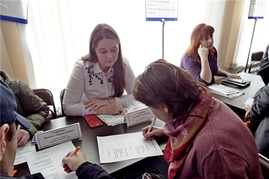 На ярмарке вакансий с работодателем можно пообщаться напрямую